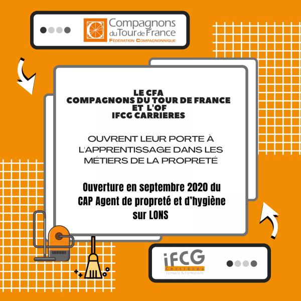 Publication-CAP APH-CFA et IFCG